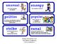 ReadyGen Vocabulary Word Wall Cards Unit 3A- 2016  Grade 2