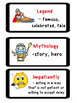 "ReadyGen ""Vocabulary to Unlock Text"" Vocabulary Card - UNI"