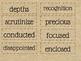 Readygen Vocabulary
