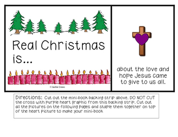 Real Christmas Is...Mini-Book to Celebrate the Meaning of