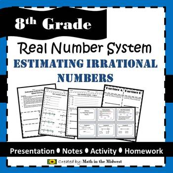 8.NS.A.2 Real Number System - Estimating Irrational Numbers