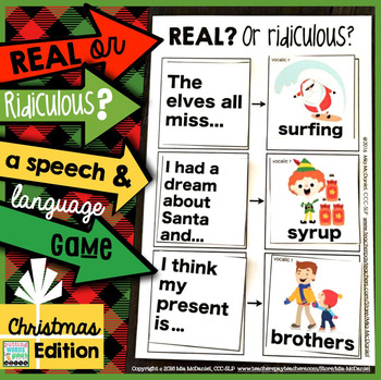 Real OR Ridiculous? {Christmas edition!}