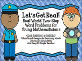 Let's Get Real!  Real World  Word Problems for CCSS 5.NBT.