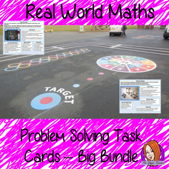 Real World Maths Task Cards Bundle
