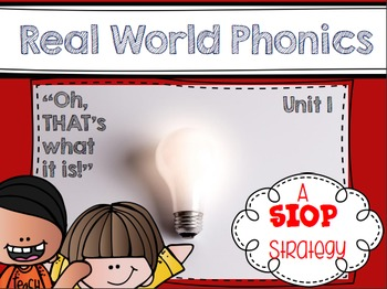 Real World Phonics for Reading Wonders 1st grade {Unit 1}