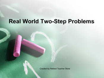 Real World Two-Step Problems