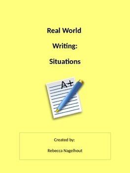 Real Writing- Surviving Real Life (manual, pamphlet, colle