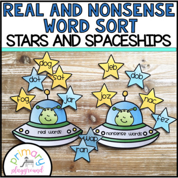 Real and Nonsense Word Sort Stars and Spaceships