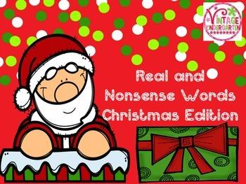 Real and Nonsense Words - Christmas Edition