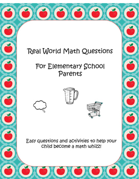 Real world math ideas for parents to build kids' mathemati