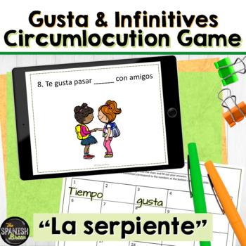 Realidades 1 1A VOCAB &GRAMMAR review: game El Serpiente