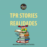 Realidades 1 4A 4B Bundle: TPR story reading comprehension