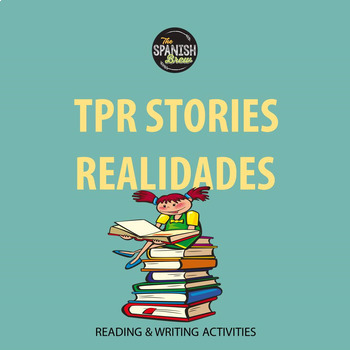 Realidades 1 5A 5B Bundle: TPR story reading comprehension