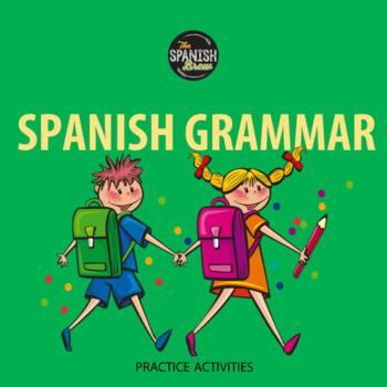 Realidades Spanish 1 6A grammar practice: BUNDLE superlati