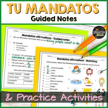Realidades 1 6B grammar practice: Affirmative tu commands
