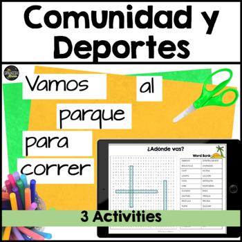 Realidades 1 cp. 4A 4B word search