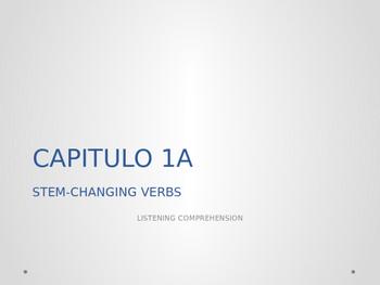 Realidades 2. 1A. Listening comprehension.