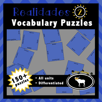 Realidades 2 Entire Textbook 72 Puzzle Pack