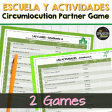Realidades Spanish 2 1A 1B Bundle: vocabulary circumlocuti