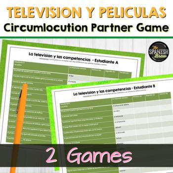 Realidades 2 6A 6B Bundle: vocabulary practice circumlocut