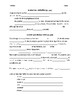Realidades I Capítulo 9A Vocabulary and Grammar Notes (Eng