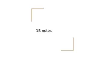 Realidades ch 1b Notes