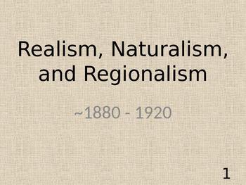 Realism, Naturalism, Regionalism, and Kate Chopin