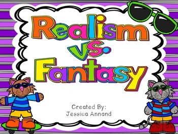 Realism vs. Fantasy Task Cards