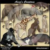 3D Africa 1 - Animals