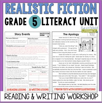 Realistic Fiction Reading & Writing Unit: Grade 5...40 Les