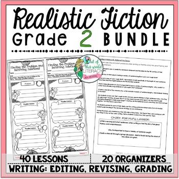 Realistic Fiction Unit of Study: Grade 2 BUNDLE