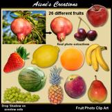Realistic Fruit Clip Art