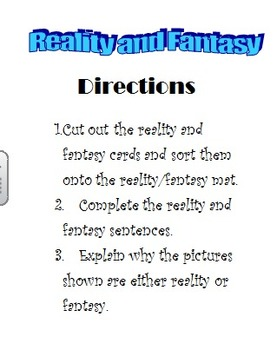 Reality and Fantasy Workstation