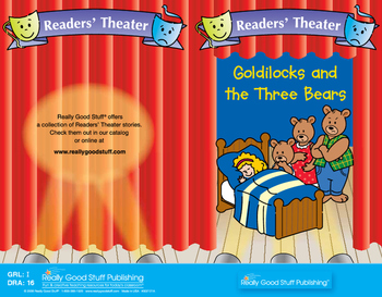 Really Good Readers' Theater: Goldilocks And The Three Bears Book