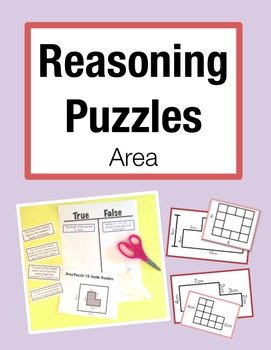 Reasoning Puzzles (Area): Activities to Engage in Math Tal