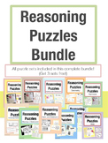 Reasoning Puzzles Complete Bundle: 3 FREE Sets!