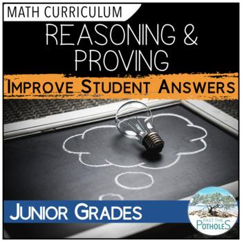 Reasoning and Proving - Math Process - Student Activity