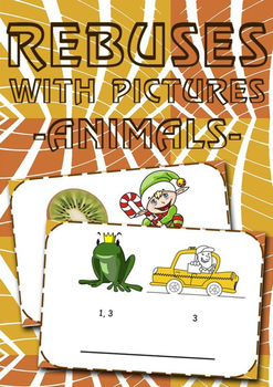 Rebuses with pictures! (animals)