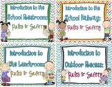 Recess, Restroom, Lunchroom, Hallway: Rules & Safety {bundle}