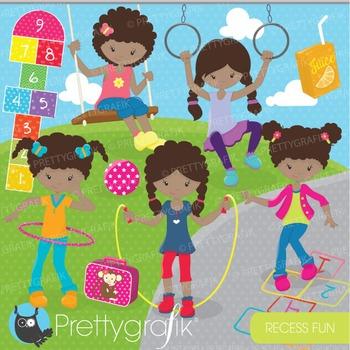 Recess fun kids clipart commercial use, vector graphics, d