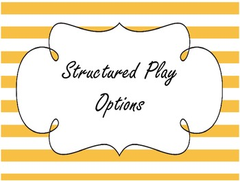 Recess/Structured Play/PE go to!