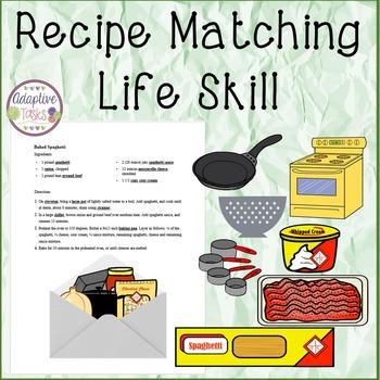 LIFE SKILL Recipe Matching
