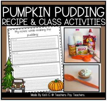 Pumpkin Pudding~ Recipe for Individual Puddings For the Cl