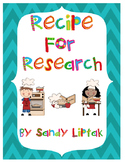 Recipe for Research
