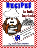 Recipes for Reading Comprehension - High Interest Themes