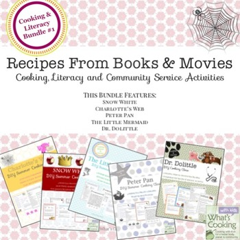 Recipes from Books and Movies #1 - Cooking, Literacy and S
