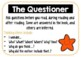 Reciprocal Reading Package - bookmarks, posters,worksheet,
