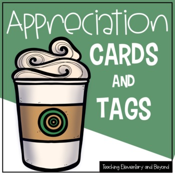 Recognition & Appreciation Gift Tags