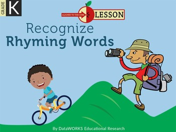 Recognize Rhyming Words