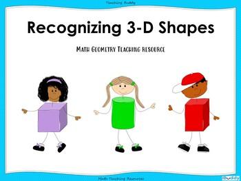 Recognizing 3D Shapes